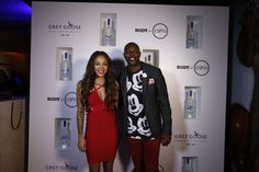 Raise the Grey Goose Backstage cocktail in honor of this striking power-play, host Sydney Leroux and football star Terrell Owens.
