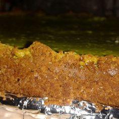 Cheesecake de limon sacado del horno.