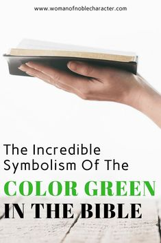 Green in the Bible, it's various meanings, Hebrew words and scripture references on this important color for Bible symbolism. Bible Study Notebook, Scripture Study, Faith Quotes, Bible Quotes, Colors In The Bible, Color Symbolism, Christian Inspiration, Biblical Inspiration, Journal Inspiration