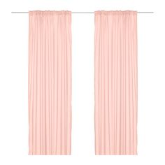 WHEN WE MOVE! VIVAN Curtains, 1 pair IKEA The curtains let the light through but provide privacy so they are perfect to use in a layered window solution.