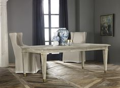 Modern History Home Swedish Dining Table modern-dining-tables Furniture Styles, Quality Furniture, New Furniture, Furniture Design, Painted Furniture, Elegant Dining Room, Modern Dining Table, Dining Table Chairs, Dining Rooms