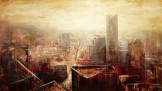 Urban landscape by Lindsey Kustusch