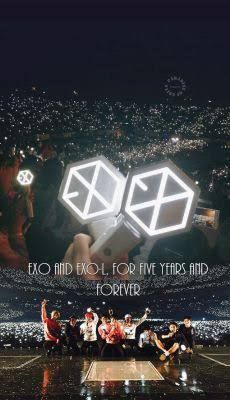 Shared by ST. Find images and videos about kpop, exo and korean on We Heart It - the app to get lost in what you love. Lightstick Exo, Park Chanyeol, Baekhyun, K Pop, Exo Red Velvet, 5 Years With Exo, Exo Album, Exo Official, Exo Lockscreen