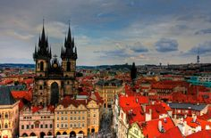 "Known as ""the city of a hundred spires"", Prague (Czech: Praha) is the capital and largest city of the Czech Republic Prague Food, Prague City, Prague Castle, Varadero, Prague Must See, Visit Prague, Image Emotion, Pointe À Pitre, Hotels"