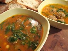 Mars. 3. Middle Eastern Meatball Soup