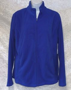 Laura Scott Womens Jacket Micro Fleece Zip Front Solid size L NEW  https://www.ebay.com/itm/Laura-Scott-Womens-Jacket-Micro-Fleece-Zip-Front-Solid-size-L-NEW-/253449629962?var=&hash=item80aac74272