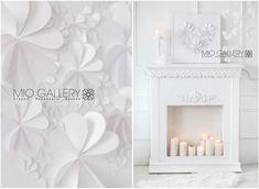 Winter Wonderland  blanco sobre blanco boda libro de por MioGallery