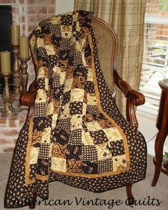 American Vintage Quilts Halloween quilt