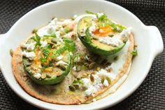 Baked Eggs in Avocado Cups With Feta and Mint | Serious Eats : Recipes