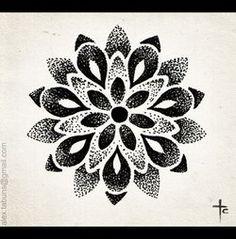 everyday mandala 2 Head Tattoos, Time Tattoos, Body Art Tattoos, Sleeve Tattoos, Tattoos For Guys, Mandala Tattoo Design, Tattoo Designs, Geometric Mandala Tattoo, Dot Work Tattoo