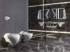 Porcelanosa en collaboration avec Zaha Hadid et Noken