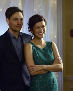 Still of Gregory Smith and Priscilla Faia in Rookie Blue