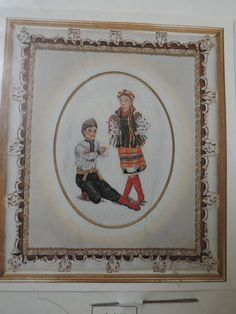 Ukranian Dancers Folklore Dancing Louise Gregoire Originals Cross Stitch Petit Point Needlework Kit 115 Chart Kit Missing Canvas Sewing Patterns For Kids, Star Patterns, Vintage Sewing Patterns, Precious Moments Dolls, Basset Hound Dog, Fairy Clothes, Raggedy Ann And Andy, Crochet Instructions, Needlepoint Kits
