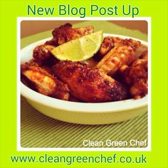 Clean chicken wings Check out my blog www.cleangreenchef.co.uk repin this, like this Green Chef, Clean Chicken, Green Cleaning, News Blog, I Foods, Chicken Wings, About Me Blog, Check, Healthy Chicken