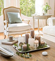 Navidad a la luz de las velas · ElMueble.com · Escuela deco