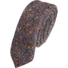Barneys new york Donegal Tweed Tie in Gray for Men (multi) | Lyst