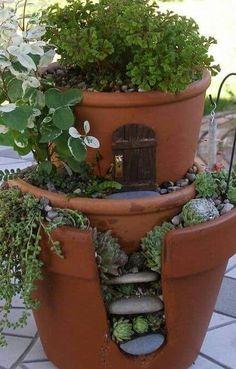 Terra Cotta Fairy Garden