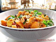Kriszta konyhája- Sütni,főzni bárki tud!: Sütőtök curry ( paleo )