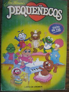 Album cromos Pequeñecos (Muppet Babies) Muppet Babies, Luigi, Childhood, History, Nostalgia, Fictional Characters, Vintage, Random, Old Stuff