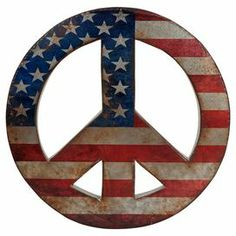 American Peace Wall Decor