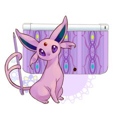 Espeon 3DS. This is going to be on cool stuff and T.T.M.H.G.T.S.