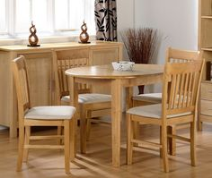 Dining Table Chairs Set Extendable Wood Kitchen Room Upholstered Furniture Guest