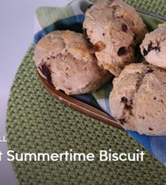 CARLA HALL Sweet Summertime Biscuit - Chew Recipes