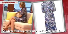 Want to know where Charlotte Hawkins got her multi coloured dress? Style on Screen can tell you. Charlotte Hawkins, Good Morning Britain, How To Wear, Color, Dresses, Style, Fashion, Vestidos, Swag