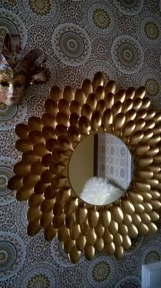 18 Fashionable Mirror Concepts >> For Extra Fashionable Mirror Decor Concepts  #diy