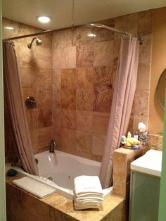 Jacuzzi Bathtub Shower Combination For Small Bathrooms Great