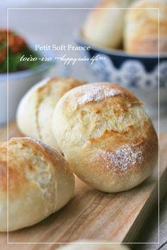 HBを使って簡単に作るソフトフランス。焼き上がりは外パリ!中はフワフワ♪                                                                                                                                                                                 More