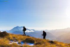Heli Hiking, Glenorchy - Chris McLennan Photography