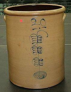 20 Gallon Minnesota Stoneware Crock