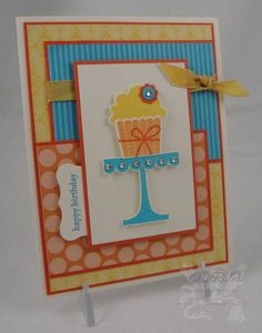 SC331 Happy Cupcake by chanteuse - Cards and Paper Crafts at Splitcoaststampers