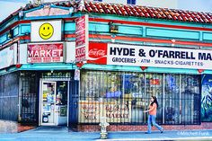 Hyde&O'Farrell Market In The Tenderloin District, San Francisco By Mitchell Funk  www.mitchellfunk.com