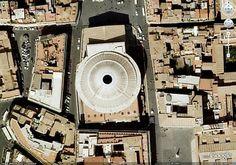 pantheon aerial view
