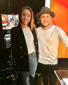 June 30th 2017: Niall with andy_moore_ at @TheTodayShow