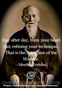 Morihei Ueshiba, founder of - Frauen-Sportbewegungen Wisdom Quotes, Art Quotes, Motivational Quotes, Life Quotes, Inspirational Quotes, Mindset Quotes, Martial Arts Quotes, Aikido Martial Arts, Bruce Lee Martial Arts