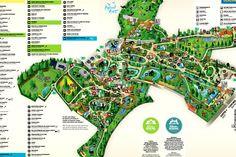 Plan du Zooparc de Beauval