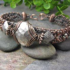 Woven Turquoise Bracelet   JewelryLessons.com