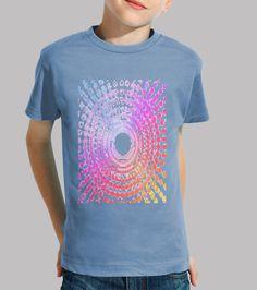 Camiseta niños, Espiral disponible en 9 colores por 19,90€