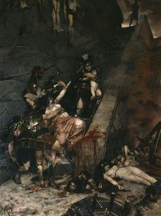 Andromache by Georges Antoine Rochegrosse - 1883 - Musée des Beaux-arts de Rouen