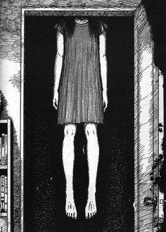 Anime...creepy...eroguro...guro...gore...scary