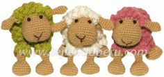 Patron Amigurumi Crochet : Mouton Espagnol