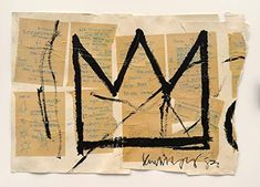 As far as New York artists go, Jean-Michel Basquiat is about as authentically New York as it gets. The Brooklyn-born icon is the subject of a seminal new exhibition, Basquiat: The Unknown Notebooks, which places the pages of eight of the artist's noteb. Herbert List, Sgraffito, Keith Haring, Jean Michel Basquiat Crown, Jm Basquiat, Basquiat Tattoo, Basquiat Prints, Basquiat Paintings, Art Basel