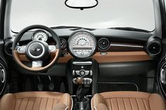 MINI Cooper 50 Mayfair interior
