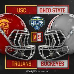 Football Bowl Games, Buckeyes Football, Ohio State Football, Ohio State University, Ohio State Buckeyes, College Football, Football Helmets, Football Season, Sports