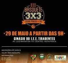 Rádio Web Mix Esporte&Som: Nova Prata: Vem aí o Terceiro Campeonato de Basque...