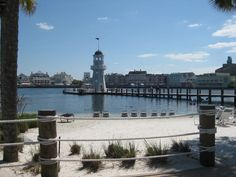 Looking out from the Beach Club towards the Boardwalk