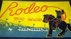 rodeo toy game.